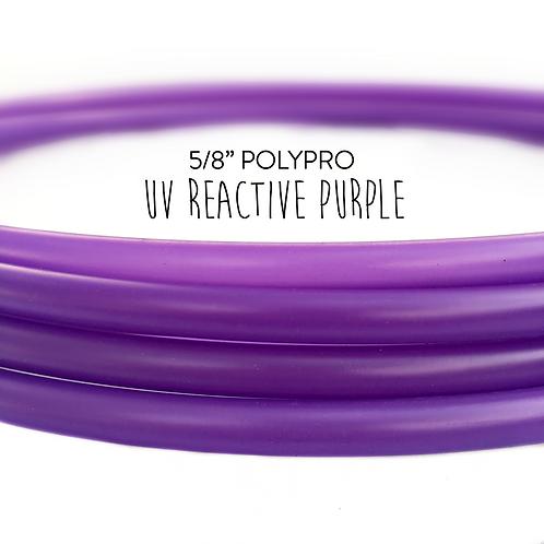 "5/8"" UV Reactive Purple Iris Polypro Hula Hoop"