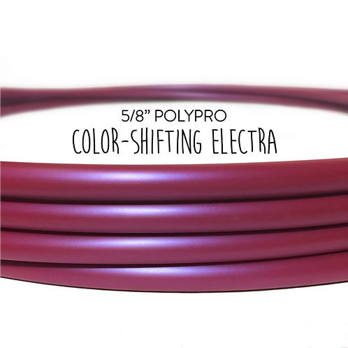 "5/8"" Color-shifting Electra Polypro Hula Hoop"