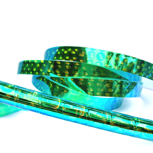 Green Orb Taped Hula Hoop