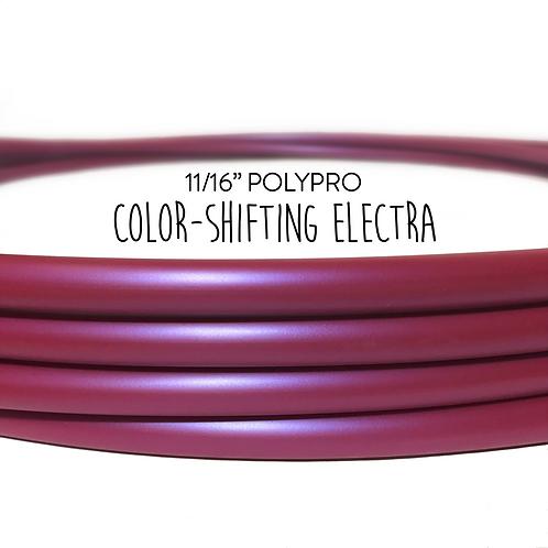 """11/16"""" Color-shifting Electra Polypro Hula Hoop"""