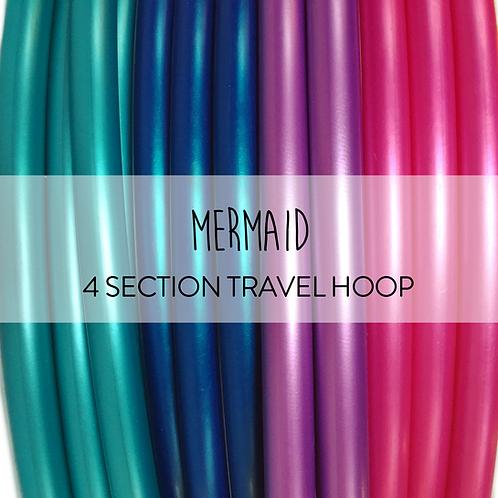 Mermaid 4 Section Travel Hula Hoop