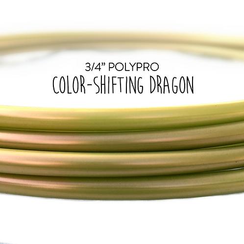 "3/4"" Color-shifting Dragon Polypro Hula Hoop"