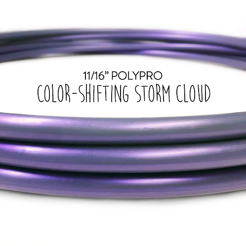 "11/16"" Storm Cloud Polypro Hula Hoop"
