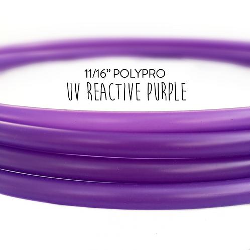 "11/16"" UV Reactive Purple Polypro Hula Hoop"