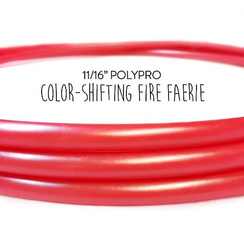 "11/16"" Fire Faerie Polypro Hula Hoop"