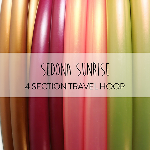 Sedona Sunrise 4 Section Travel Hula Hoop