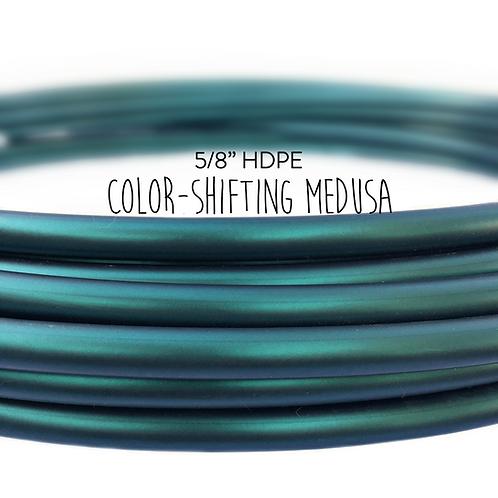 "5/8"" Color-shifting Medusa HDPE Hula Hoop"