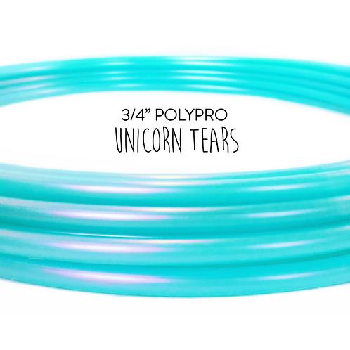 """3/4"""" Unicorn Tears Polypro Hula Hoop"""