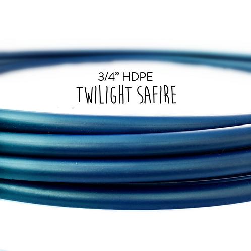 """3/4"""" Twilight Safire HDPE Hula Hoop"""
