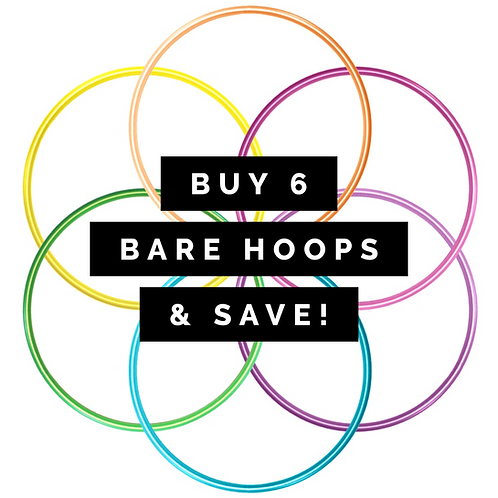 Buy 6 Bare Hoops & Save!