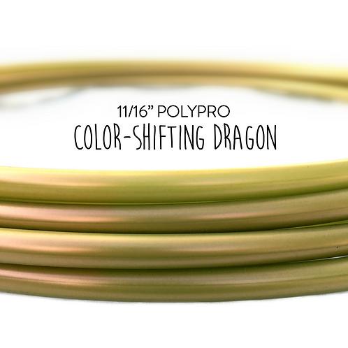 "11/16"" Color-shifting Dragon Polypro Hula Hoop"