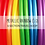 Thumbnail: Metallic Rainbow (1.0) 6 Section Travel Hula Hoop