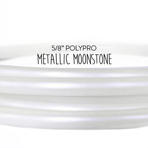 """5/8"""" Metallic Moonstone Polypro Hula Hoop"""