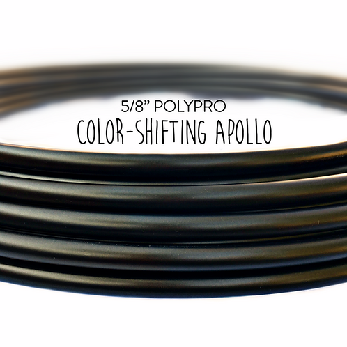 "5/8"" Color-shifting Apollo Polypro Hula Hoop"