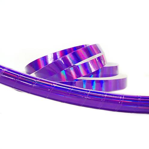 Purple Sheen Taped Hula Hoop