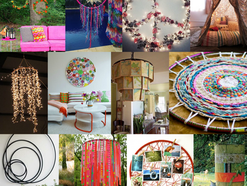 DIY Projects with Recycled Hoops