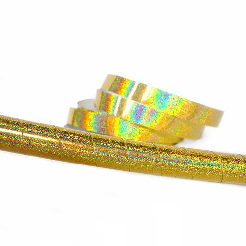 Gold Glitter Taped Hula Hoop