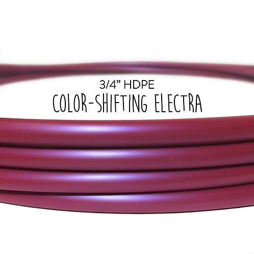 """3/4"""" Color-shifting Electra HDPE Hula Hoop"""