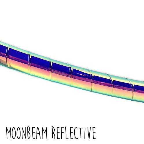 Moonbeam Reflective Taped Hula Hoop