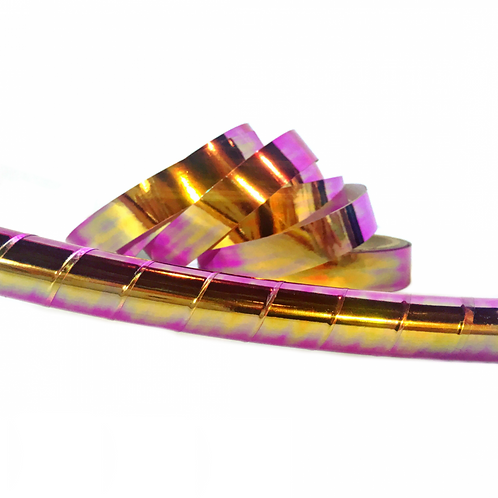 Oil Slick Taped Hula Hoop