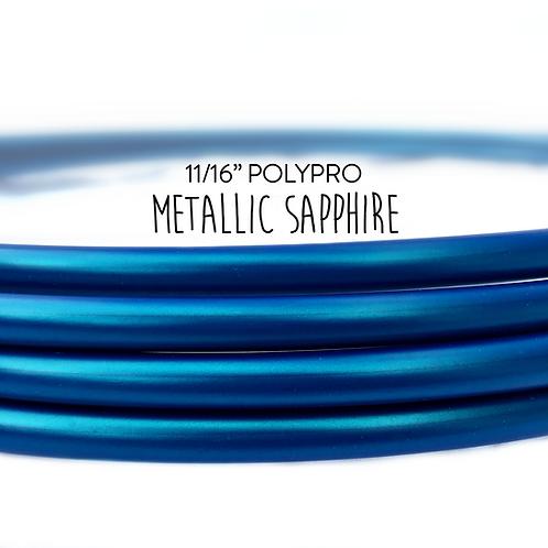 "11/16"" Metallic Sapphire Polypro Hula Hoop"