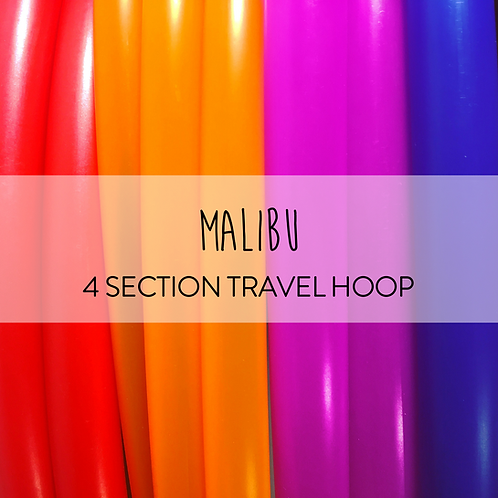 Malibu 4 Section Travel Hula Hoop