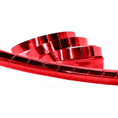 Red Mirror Taped Hula Hoop