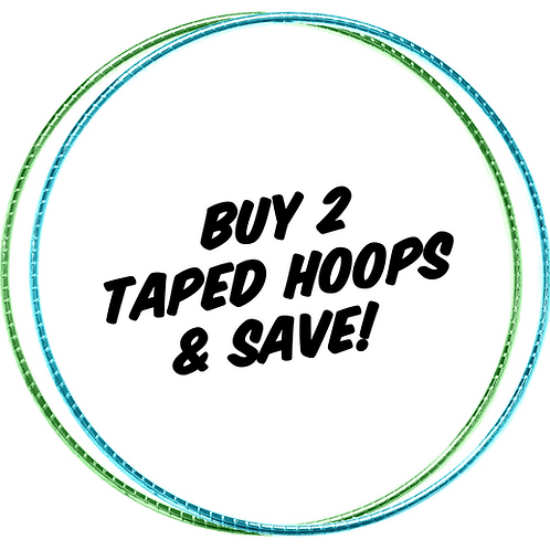 Buy 2 Taped Hoops & Save!