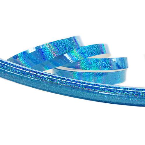 Sky Blue Glitter Taped Hula Hoop