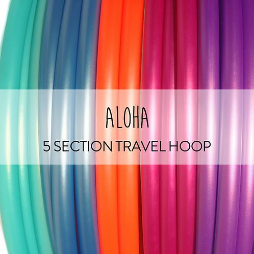 Aloha 5 Section Travel Hula Hoop