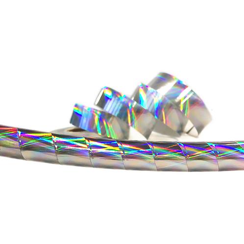 Rainbow Vortex Taped Hula Hoop