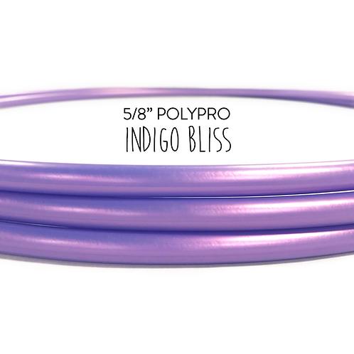 """5/8"""" Color-shifting Indigo Bliss Polypro Hula Hoop"""
