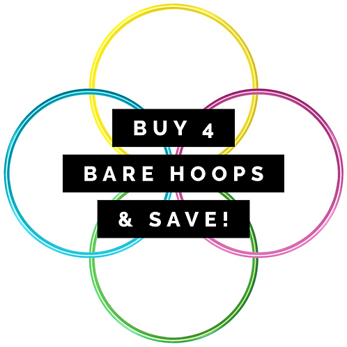 Buy 4 Bare Hoops & Save!