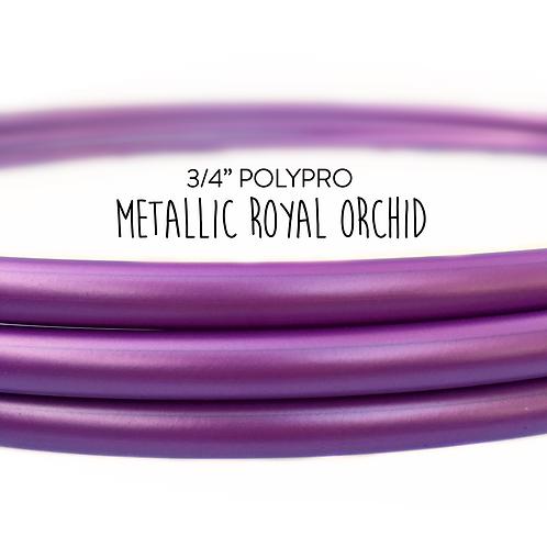 "3/4"" Metallic Royal Orchid Polypro Hula Hoop"