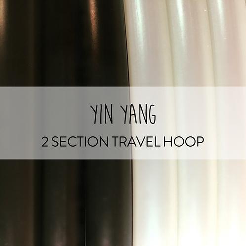 Yin Yang 2 Section Travel Hula Hoop