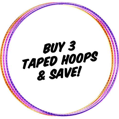 Buy 3 Taped Hoops & Save!