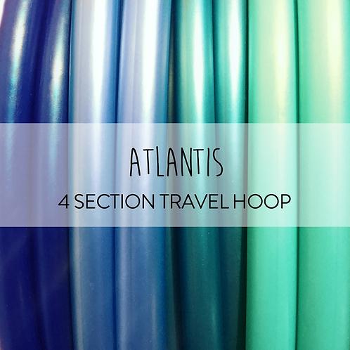 Atlantis 4 Section Travel Hula Hoop