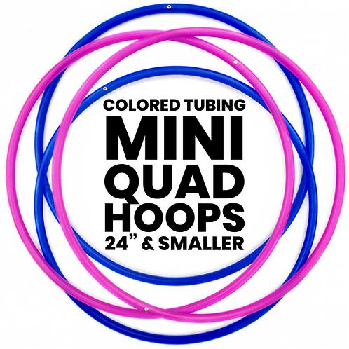 Custom Mini Quad Hoops with Co