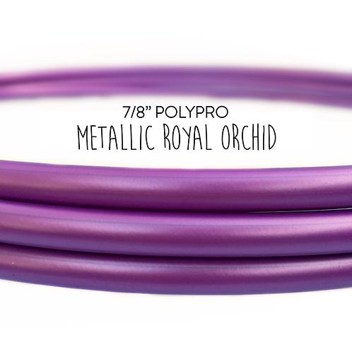 "7/8"" Metallic Royal Orchid Polypro Hula Hoop"