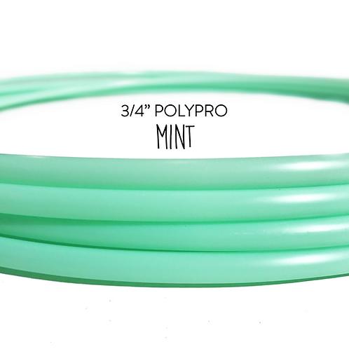 "3/4"" Mint Polypro Hula Hoop"