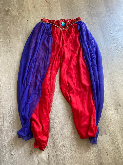 Red & Blue Aladdin Pants (M)