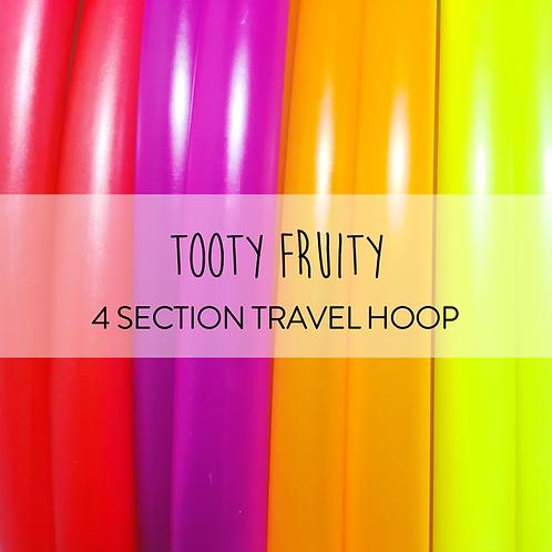 Tooty Fruity 4 Section Travel Hula Hoop