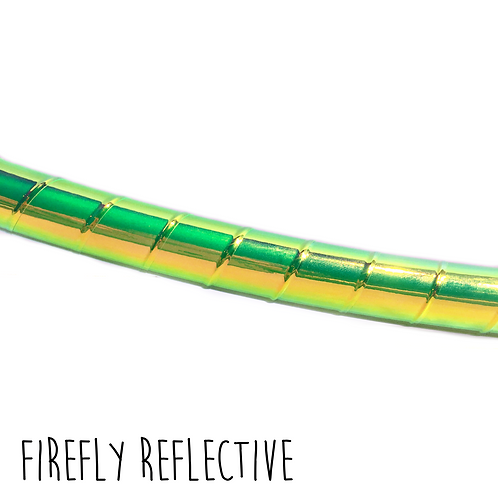 Firefly Reflective Taped Hula Hoop