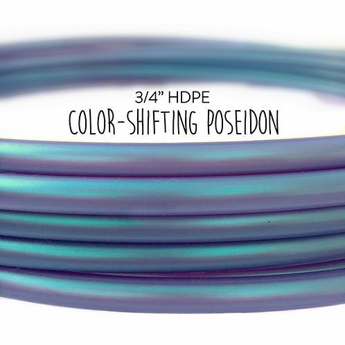 """3/4"""" Color-shifting Poseidon HDPE Hula Hoop"""