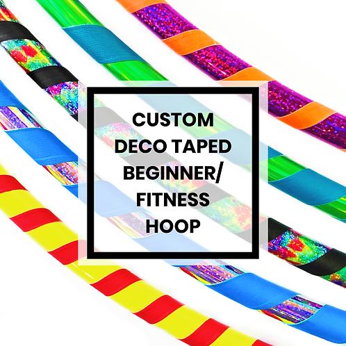 Custom Deco Beginner/Fitness Hoop