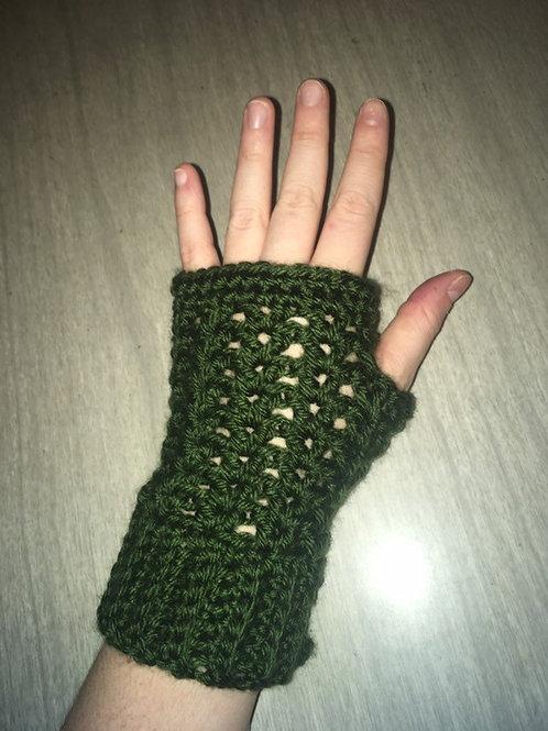 Fingerless Crochet Gloves by Maybug Crochet