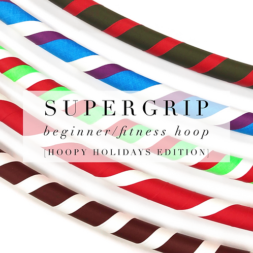 Super-Grip Beginner/Fitness Hoop [Hoopy Holidays Edition]