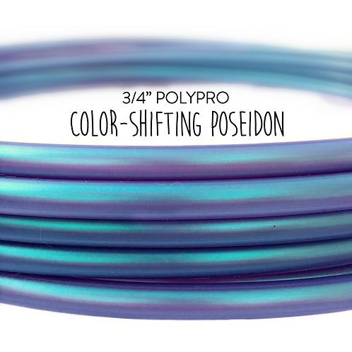 """3/4"""" Color-shifting Poseidon Polypro Hula Hoop"""