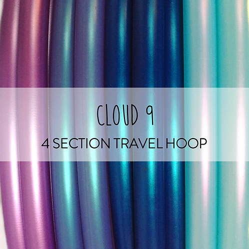 Cloud 9 4 Section Travel Hula Hoop