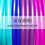 Thumbnail: UV Raspberry 4 Section Travel Hula Hoop